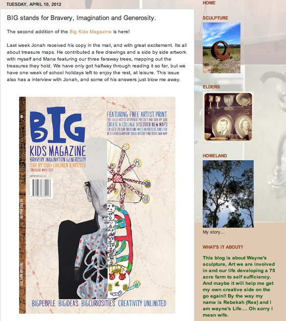 REview of BIG Kids Magazine