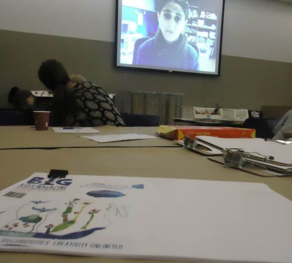Flying virtually across the world to talk about BIG concepts of collaboration and response.